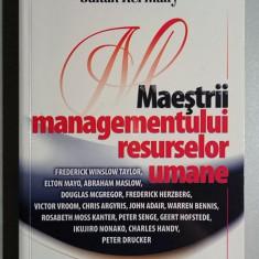 Maestrii managementului resurselor umane - Sultan Kermally