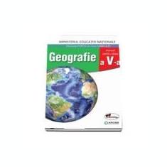 Manual pentru Geografie, clasa a V-a include si varianta digitala ( Manuela Popescu )