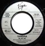 Sandra - Hi! Hi! Hi! (1986, Virgin) Disc vinil single 7""
