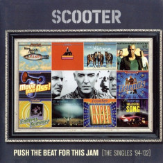 CD Scooter ‎– Push The Beat For This Jam [The Singles '94'-'02], original