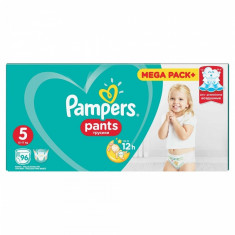 Scutece Pampers Active Baby Pants 5 Mega Box Pack, 96 buc/pachet