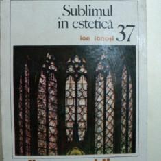 SUBLIMUL IN ESTETICA- IOAN IANOSI- BUC.1983