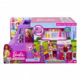Barbie - set cu rulota la picnic, Mattel