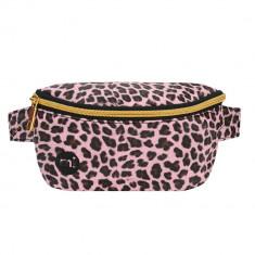 Borseta Mi-Pac Bum Bag Cheetah Pink - Cod 202875