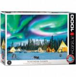Cumpara ieftin Puzzle Eurographics - Northern Lights - Yellowknife, 1000 piese