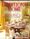 "Revista  SUA ""TRADITIONAL HOMES"", lb. engleza, martie 2003, 164 pagini"