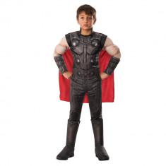 Costum Deluxe cu muschi Thor, Avengers, marimea M, 5 - 7 ani