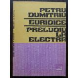 EURIDICE, PRELUDIU LA ELECTRA DE PETRU DUMITRIU