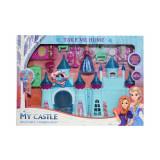 Castel muzical, cu figurina + accesorii
