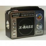Radio multifunctional dotat cu lanterna Waxiba XB-6061URT