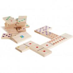 Domino din lemn gigant Buitenspeel, 28 de piese