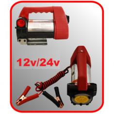 Pompa electrica transfer lichide,combustibil;ulei;Vin- la 12V sau 220V