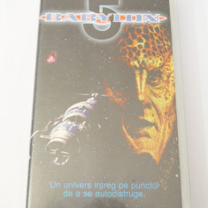 Caseta video VHS originala film tradus Ro - Babylon 5