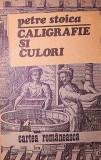 CALIGRAFIE SI CULORI - PETRE STOICA