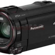 Camera Video Panasonic HC-VX980, Filmare Ultra HD 4K, Zoom Optic 20x (Negru)