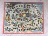 Joc piticot romanesc vechi epoca de aur comunist anii '80 doar plansa de carton