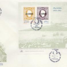Portugal Azore 1980 - 112th marcii postale, FDC