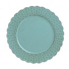 Platou Plastic Turquoise 33 cm