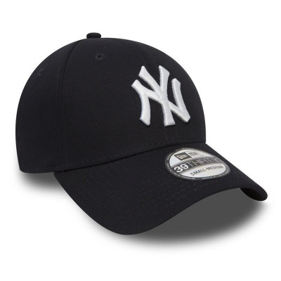 Sapca New Era 39thirty Basic New York Yankees Bleumarin - Cod 95897653 foto