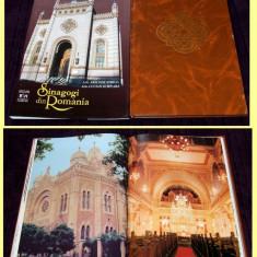 Sinagogi din Romania, album monografic cu fotografii si planuri de arhitectura