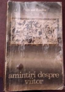 AMINTIRI DESPRE VIITOR   ERICH VON DANIKEN