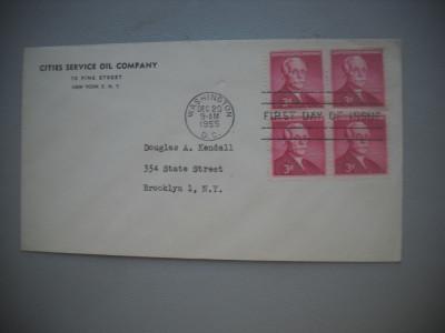 HOPCT PLIC FDC S 1770 ANDREW W MELLON 1955  SUA foto