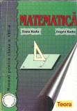 Matematica pentru clasa a 8 a - Dana Radu, Clasa 8