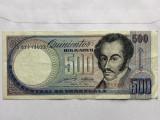 VENEZUELA 500 BOLIVARES 1990