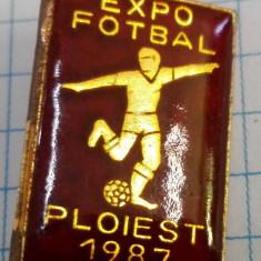 Insigna Expo Fotbal, Ploiesti 1987
