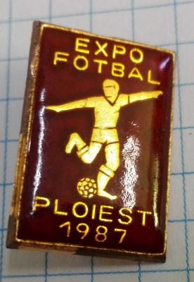 Insigna Expo Fotbal, Ploiesti 1987 foto