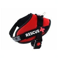 Ham pentru câini Rescue S 45 - 55 cm, roșu