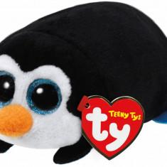 Jucarie de plus TY 10 cm Teeny TYS - Pinguinul Pocket