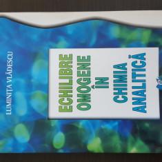 Echilibre omogene in chimia analitica - Luminita Vladescu.