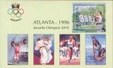 MOLDOVA 1996, Sport, J.O. Atlanta, serie neuzată, MNH