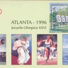 MOLDOVA 1996, Sport, J.O. Atlanta, serie neuzată, MNH, Nestampilat