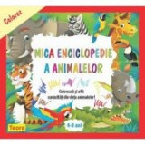 Colorez mica enciclopedie a animalelor - Diana Rotaru