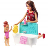 Cumpara ieftin Set Barbie Mattel Family Skipper Babysitter