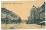 4338 - SFANTU GHEORGHE, Market, Covasna, Romania - old postcard - used - 1918, Circulata, Printata