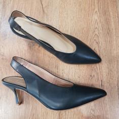 LICHIDARE STOC ! Superbi pantofi dama piele naturala integral 39,5