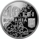 Moneda Argint 100 de ani de la naşterea lui Eugen Drăguțescu