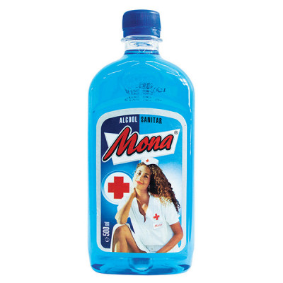 Alcool sanitar Mona 500 ml foto
