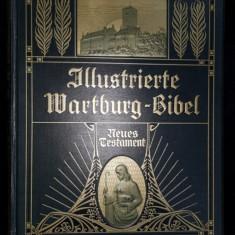 Biblia ilustrata, Noul Testament de Martin Luther - Fersfeld, 1908