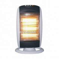 Radiator electric Halogen Hausberg HB8400 1200W