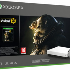Consola Xbox One X 1TB + Fallout 76 (Alb)