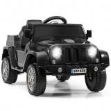 Mașinuță electrică pentru copii cu telecomandă, Negru