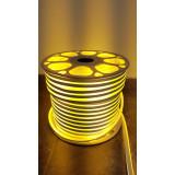 Rola Neon Flex Furtun Luminos 100 m ALB CALD / neon flexibil