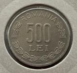 500 Lei 1999 Al, Romania, Aluminiu