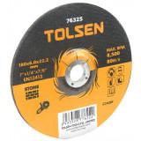 Disc abraziv cu centru coborat Tolsen, 230 x 6 x 22 mm, pentru piatra