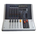 Mixer profesional cu amplificare WNGR, 4 canale, USB, 4 intrari microfon