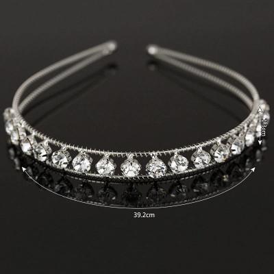 Diadema tip cordeluta Crystal foto